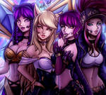 League of K/DA by JamilSC11
