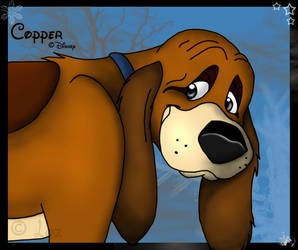 Copper -The fox and the hound- by Velvet-Loz