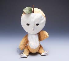 Apple Owl Spirit Doll Sit2 Cid by kaijumama