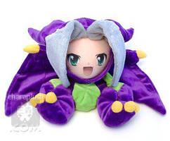 Bahamut Dragon Sephiroth Plush by kaijumama