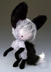 Shi Kitsune Fox Plush Doll 1 by kaijumama