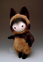 Tanuki Raccoon Dog Plush Doll by kaijumama