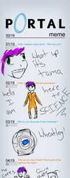 Portal meme by TamazakiMichiko