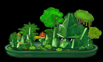 Pvz Reinforce-mint landscape by NgTTh