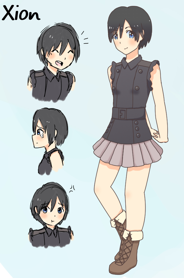 Xion\u0027s New Outfit! by littlecutiechibi on DeviantArt