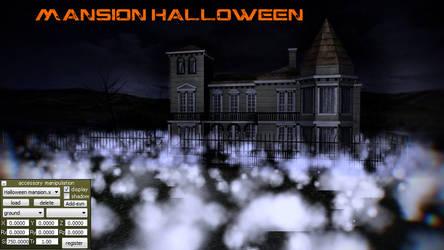 MMD Mansion Halloween by jesuuss