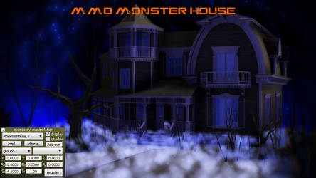 MMD Monster House by jesuuss