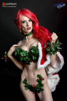 Poison Ivy's Christmas Costume! by amberbrite