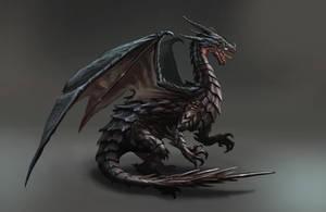 Black Dragon by aaronflorento