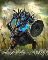 Skeleton Warrior by aaronflorento