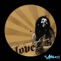 Love Bob Marley by masonfetzer