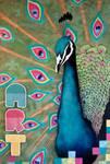 Houndstooth Peacock by masonfetzer