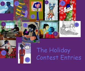 Holiday Contest Entries by NightCrawlerClub