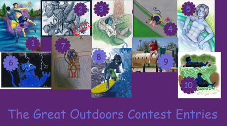 Great Outdoors Contest Entries by NightCrawlerClub