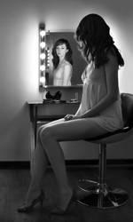 Backstage Portrait by endegor