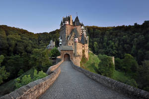 Evening at Eltz Castle by endegor