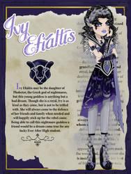 Ivy Efialtis by Jade-the-Tiger