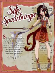 Silje Spearbringer by Jade-the-Tiger
