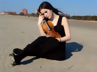 Harlequin Violin 18 by Kechake-stock