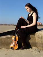 Harlequin Violin 27 by Kechake-stock