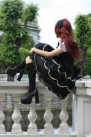 Gothic Lolita 11 by Kechake-stock