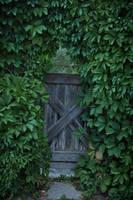 Foliage Door by Kechake-stock