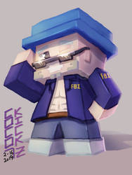 AB - Chibi FBI Mack by CocoKiCKZ