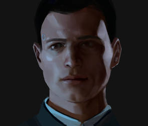 Connor Detroit: Become Human by anabananaART