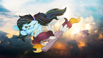 (C) Spectrum Song and Autumn Breeze by BloodLover2222