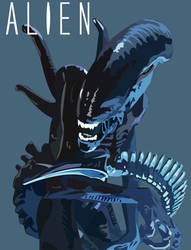 Alien Xenomorph by MrJellyfish