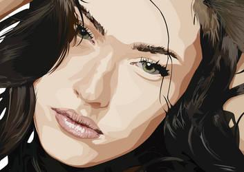 Megan Fox by MrJellyfish