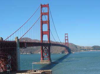 Golden Gate Bridge by MrJellyfish