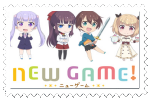 New Game (first Stamp) by lunarwing0