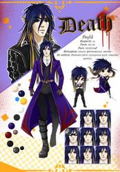 OC Death Profile by Alen-AS