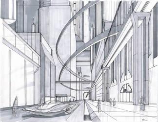CityScape2ad by DubiousLogik