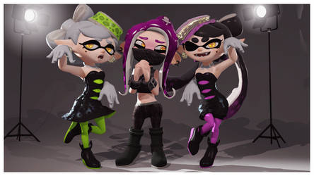 Squid Sisters by TheSilverArts
