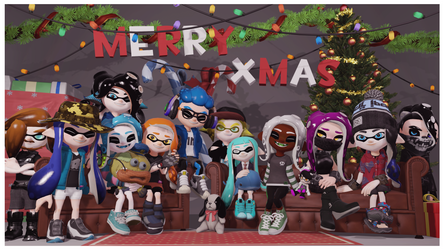 Christmas Family Photo by TheSilverArts