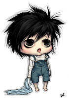 Chibi Prize - Young L by Loves-Chihuahuas
