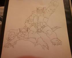 SWAT Kats: Razor and T-Bone by TakerFan2013