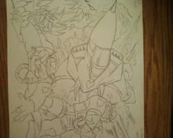 SWAT Kats-Razor and T-Bone in ACTION!!!!! by TakerFan2013