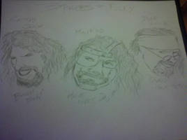 Three Faces of Foley by TakerFan2013