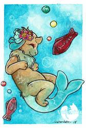 Sweet Swim by stuffbydelle