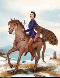 Pazyryk Warrior by Elveo