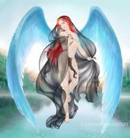 Algul, the Peri Prince - Angel of Iram by Elveo