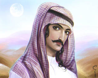Saudi Arab beauty by Elveo
