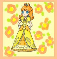 daisy brawl style by ninpeachlover