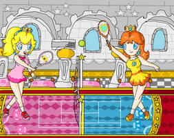 royal tennis by ninpeachlover