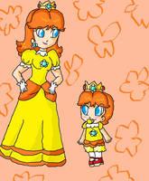 daisy and baby daisy by ninpeachlover