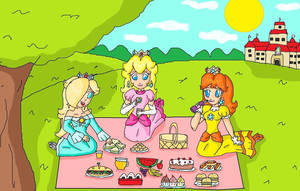 picnic time by ninpeachlover