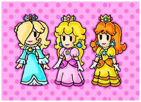 paper princesses by ninpeachlover